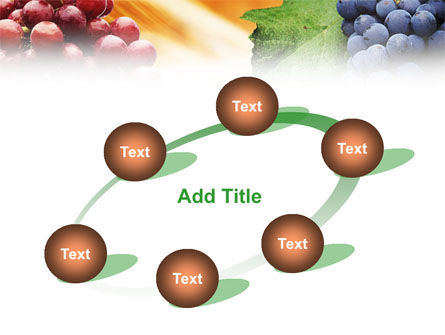 Grape PowerPoint Template Slide 14