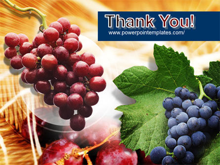 Grape PowerPoint Template Slide 20
