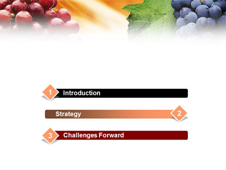 Grape PowerPoint Template Slide 3