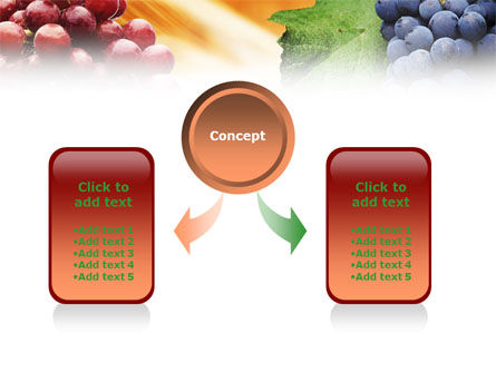 Grape PowerPoint Template Slide 4