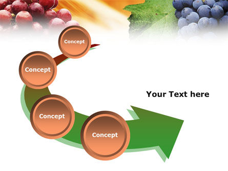 Grape PowerPoint Template Slide 6
