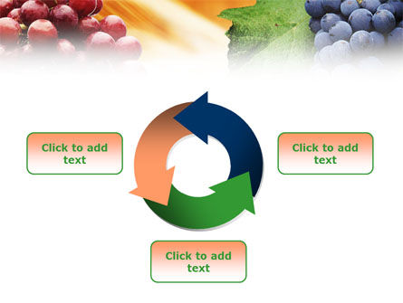 Grape PowerPoint Template Slide 9