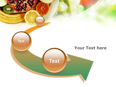 Pomegranate PowerPoint Template Slide 6