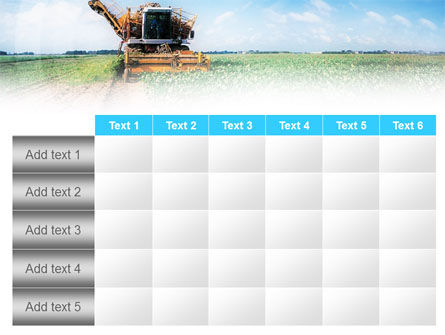 Harvester PowerPoint Template Slide 15