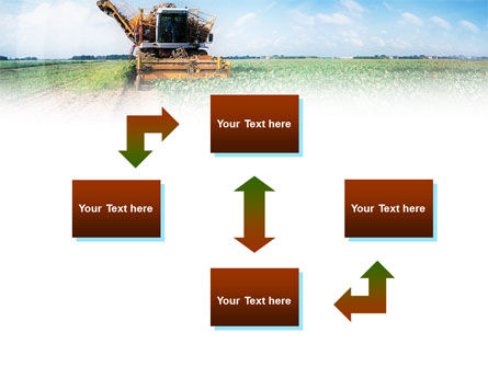 Harvester PowerPoint Template, Slide 4, 01233, Agriculture — PoweredTemplate.com