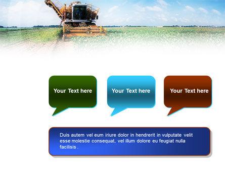 Harvester PowerPoint Template Slide 9