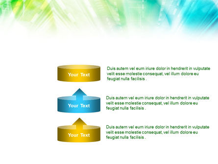 Green-Aqua Light PowerPoint Template Slide 10