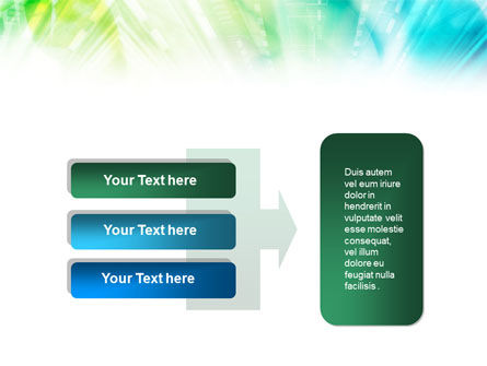 Green-Aqua Light PowerPoint Template Slide 11