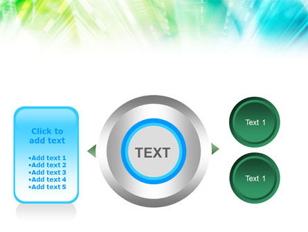 Green-Aqua Light PowerPoint Template Slide 12