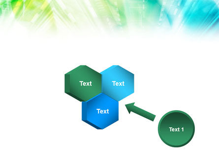 Green-Aqua Light PowerPoint Template Slide 19