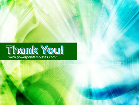 Green-Aqua Light PowerPoint Template Slide 20