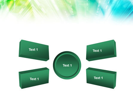 Green-Aqua Light PowerPoint Template Slide 6