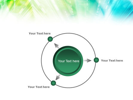 Green-Aqua Light PowerPoint Template Slide 7