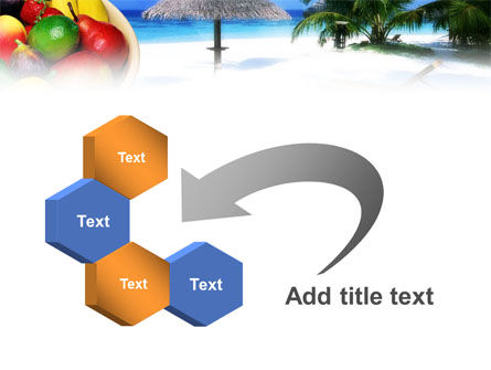 Exotic Fruits On Exotic Resort PowerPoint Template Slide 11