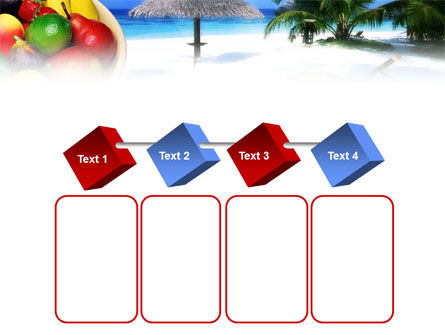 Exotic Fruits On Exotic Resort PowerPoint Template Slide 18