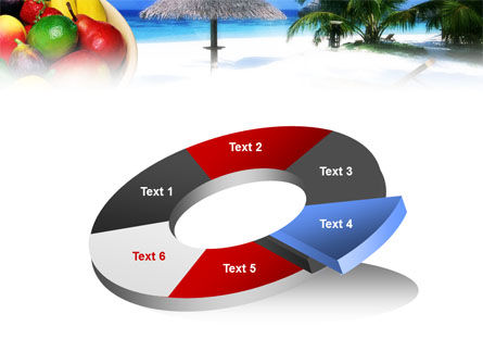 Exotic Fruits On Exotic Resort PowerPoint Template Slide 19