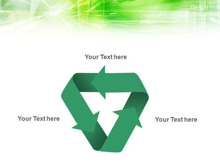 Green Shiny Theme PowerPoint Template Slide 10