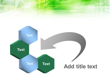 Green Shiny Theme PowerPoint Template Slide 11