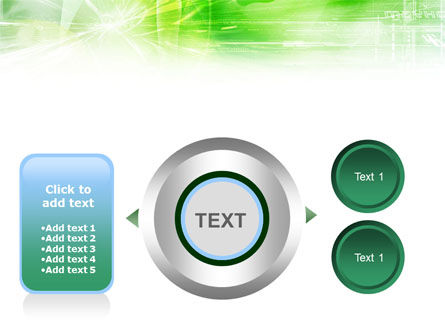 Green Shiny Theme PowerPoint Template Slide 12