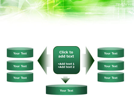 Green Shiny Theme PowerPoint Template Slide 13