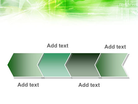Green Shiny Theme PowerPoint Template Slide 16