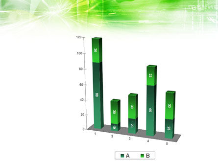 Green Shiny Theme PowerPoint Template Slide 17