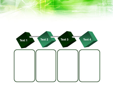 Green Shiny Theme PowerPoint Template Slide 18