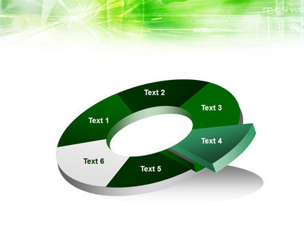 Green Shiny Theme PowerPoint Template Slide 19