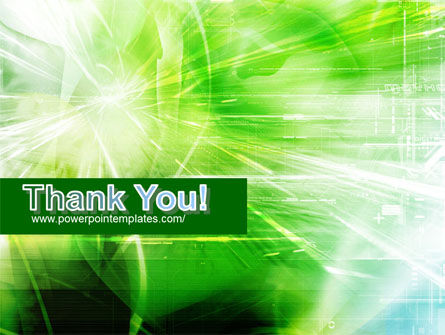 Green Shiny Theme PowerPoint Template Slide 20