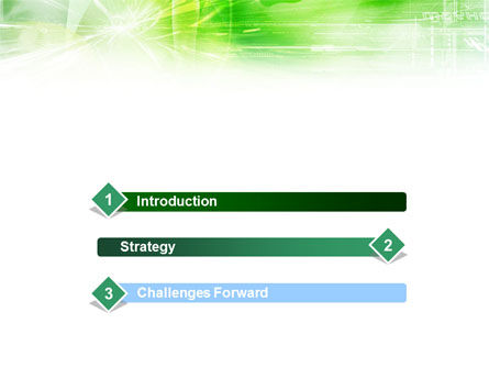 Green Shiny Theme PowerPoint Template Slide 3