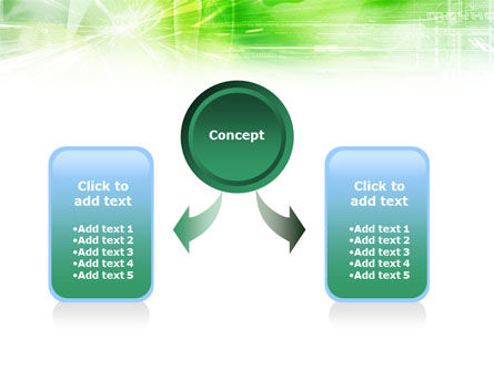 Green Shiny Theme PowerPoint Template Slide 4