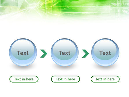 Green Shiny Theme PowerPoint Template Slide 5