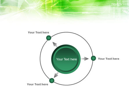 Green Shiny Theme PowerPoint Template Slide 7