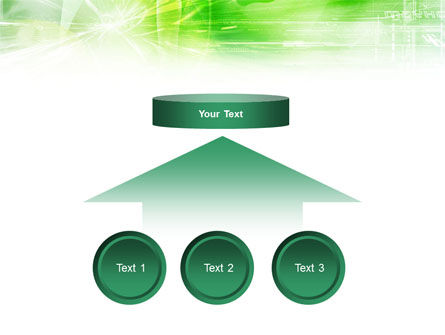 Green Shiny Theme PowerPoint Template Slide 8