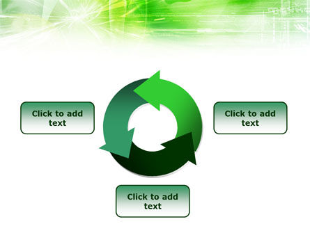Green Shiny Theme PowerPoint Template Slide 9