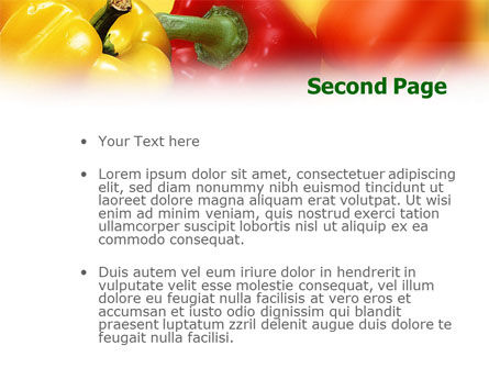 Paprika PowerPoint Template Slide 2