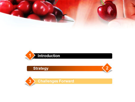 Merry PowerPoint Template, Slide 3, 01238, Food & Beverage — PoweredTemplate.com