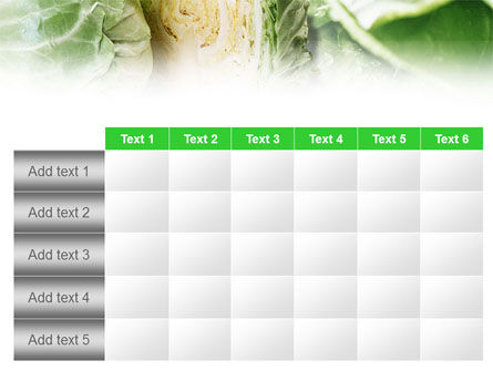 Fresh Cabbage PowerPoint Template Slide 15