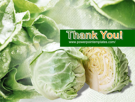 Fresh Cabbage PowerPoint Template Slide 20