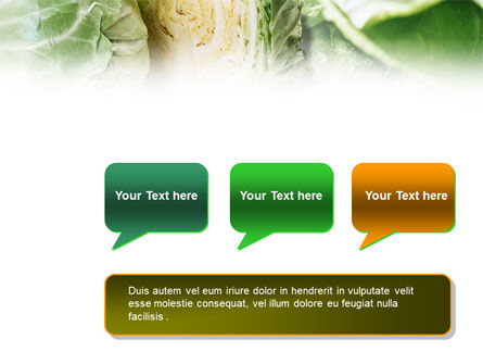 Fresh Cabbage PowerPoint Template Slide 9