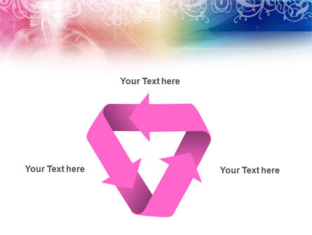 Rainbow Color Theme PowerPoint Template Slide 10