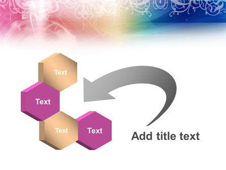 Rainbow Color Theme PowerPoint Template Slide 11