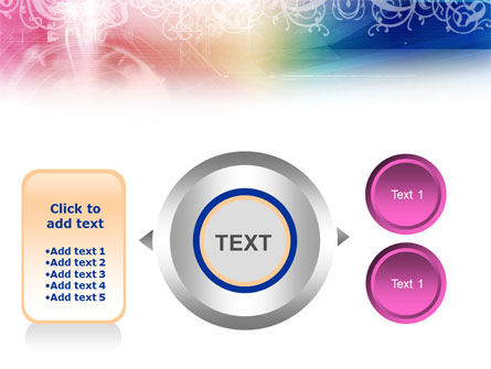 Rainbow Color Theme PowerPoint Template Slide 12