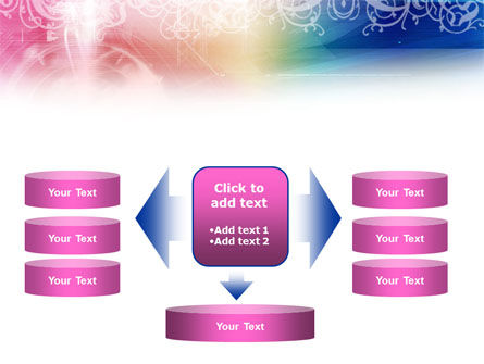 Rainbow Color Theme PowerPoint Template Slide 13