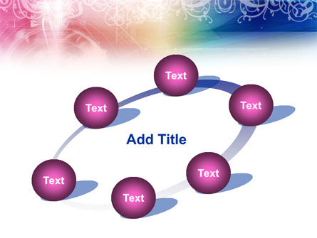 Rainbow Color Theme PowerPoint Template Slide 14