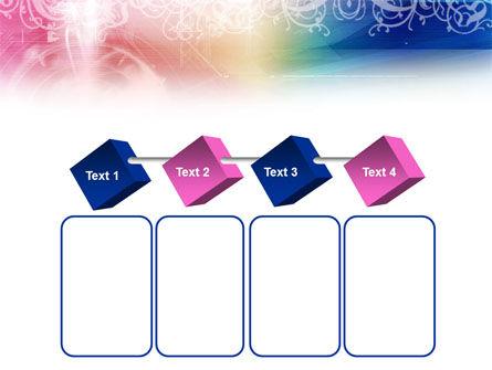 Rainbow Color Theme PowerPoint Template Slide 18