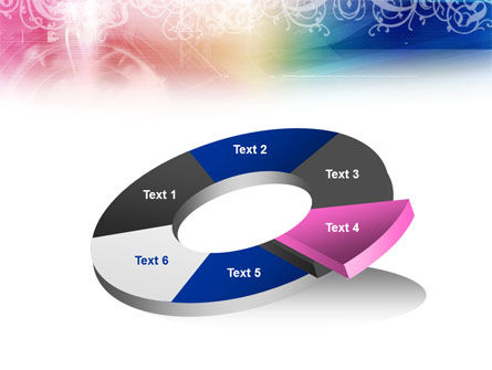 Rainbow Color Theme PowerPoint Template Slide 19