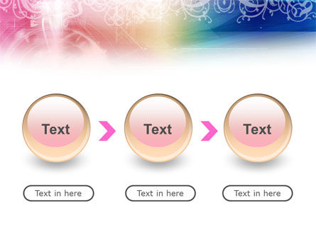 Rainbow Color Theme PowerPoint Template Slide 5
