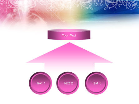 Rainbow Color Theme PowerPoint Template Slide 8