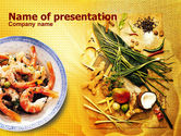 Food & Beverage: Exotic Ingredients PowerPoint Template #01242